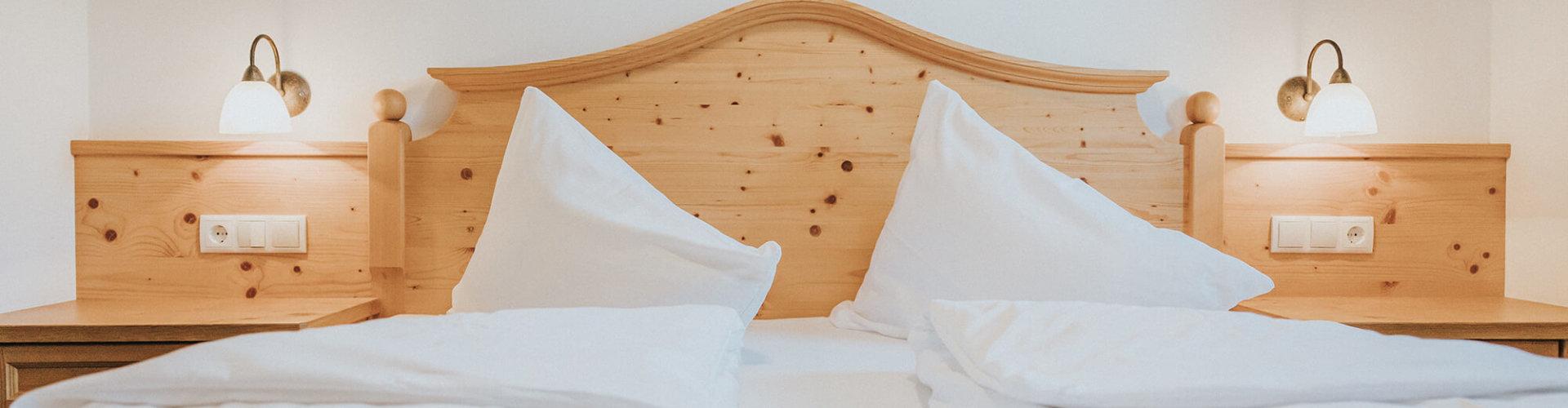 Suite Hochkönig Bett