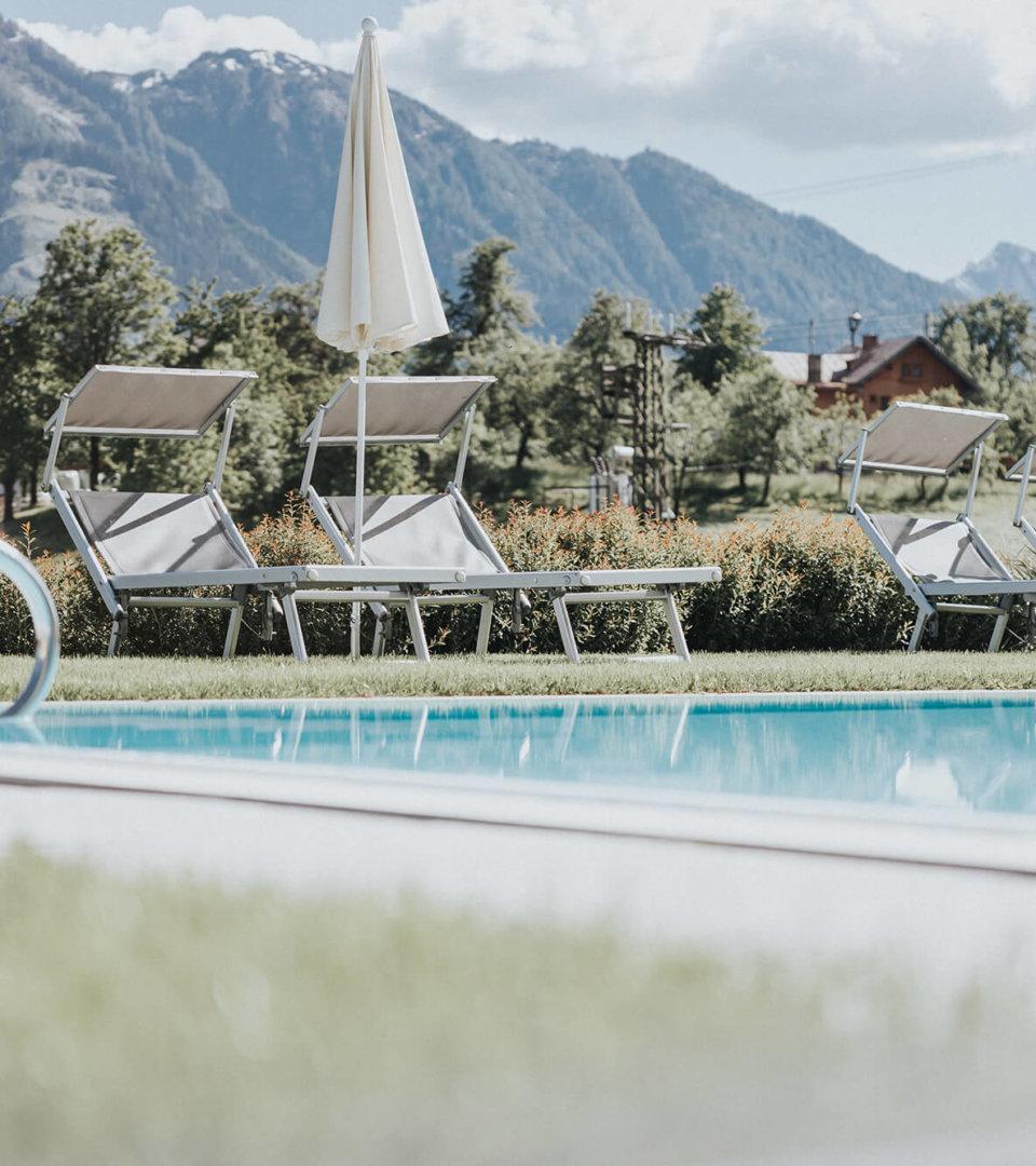 Pool im Hotel Silberfux