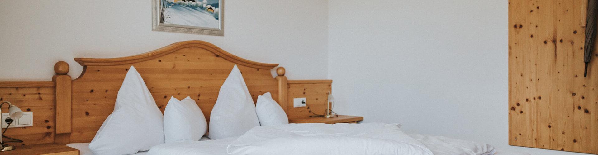 Panorama Doppelzimmer Bett