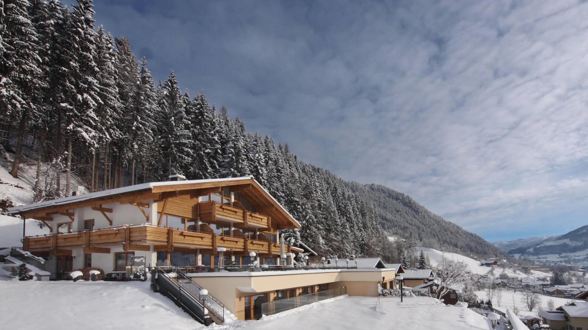 Hotel Silberfux im Winter